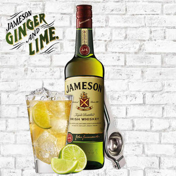 Enjoy a free Jameson, Ginger & Lime