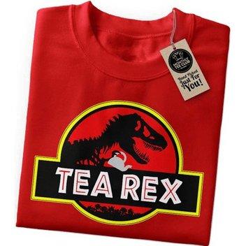 Take home a free Tea Rex t-shirt