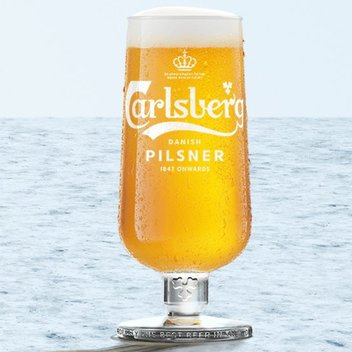 Enjoy a complimentary pint of Carlsberg Danish Pilsner
