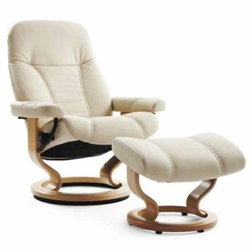 Win a Stressless Consul Medium Chair & Stool Worth £1289