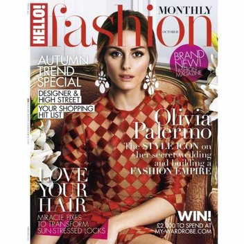 Free copy of Hello Fashion magazine