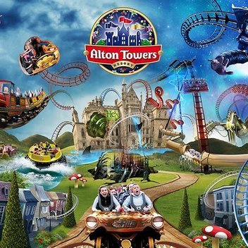 Win an overnight stay at Alton Towers Resort & a box of crisps