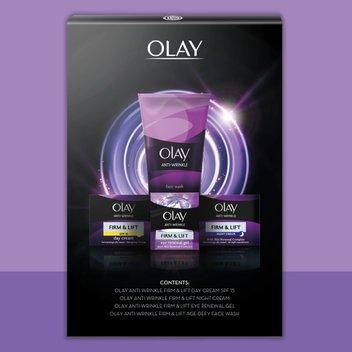 Secure a free Olay Anti-Wrinkle Set