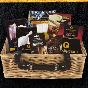 Enjoy a luxury duck dinner hamper worth £200