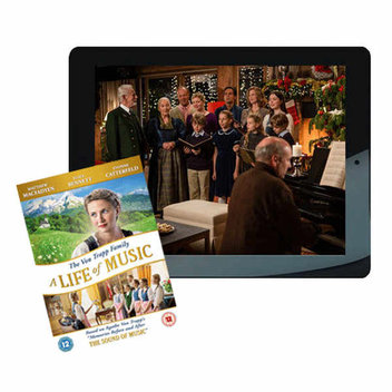 Win a 16GB Apple iPad Air plus The Von Trapp Family: A Life of Music DVD
