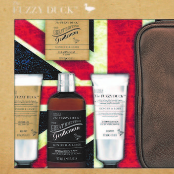 Get a free Baylis & Harding Fuzzy Duck Men's Ginger & Lime Ultimate Grooming Set
