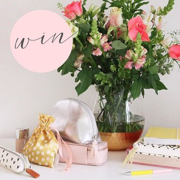 Win a year of flowers & a £250 Caroline Gardner voucher