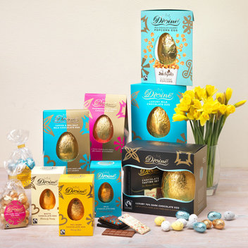 Enjoy a stay at a Bespoke hotel & a Divine Chocolate Easter hamper