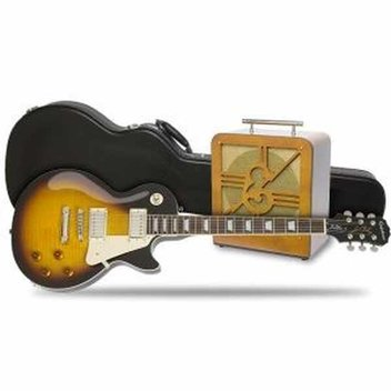 Win a new Les Paul PlusTop PRO with Hard Case plus an Epiphone Century amp