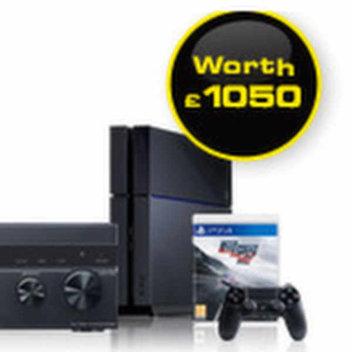 Win a SONY PS4 and Home Cinema System