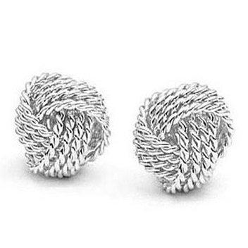 Free New York silver earrings