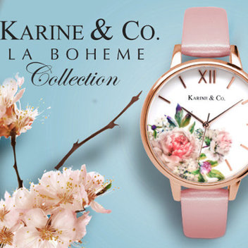Win a watch from Karine & Co.