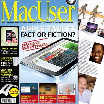 Free issue of Mac User magazine