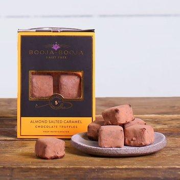 Grab a free box of Booja-Booja Almond Salted Caramel Chocolate Truffles