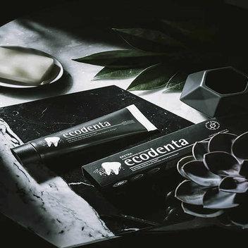 50,000 free Ecodenta Extra Black Whitening Toothpaste