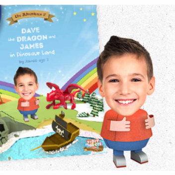 Free Kinder Surprise Personalised Story Book