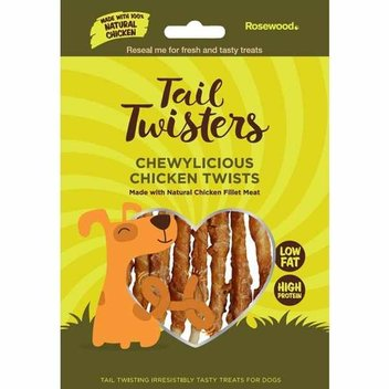Free Rosewood Tail Twisters for your dog