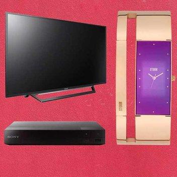 "Win a Sony 32"" TV, watch, & blu-ray player"