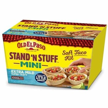 Try Old El Paso Stand 'N' Stuff mini soft taco kit for free