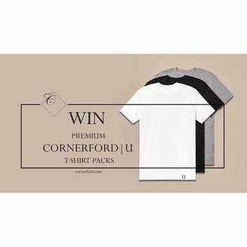 Get a free Cornerford t-shirt