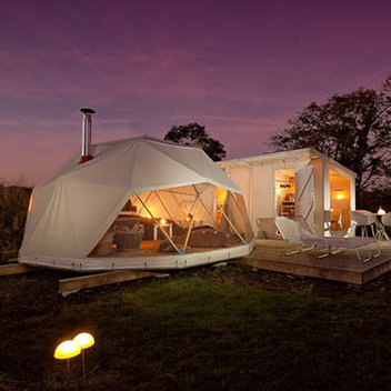 Enjoy a weekend break worth £1,000 with Canopy & Stars