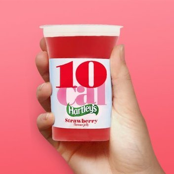 Try Hartleys 10 cal jelly pots for free