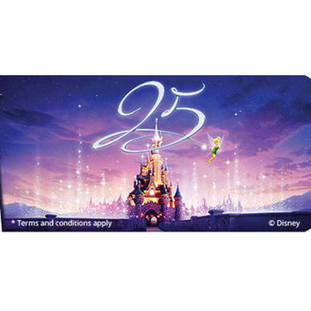 Win a VIP Family Holiday trip to Disneyland Paris