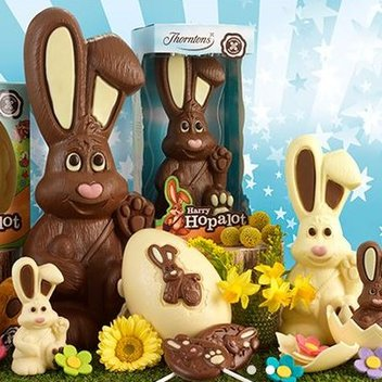 Enjoy a free chocolate Easter treat with Thornton's