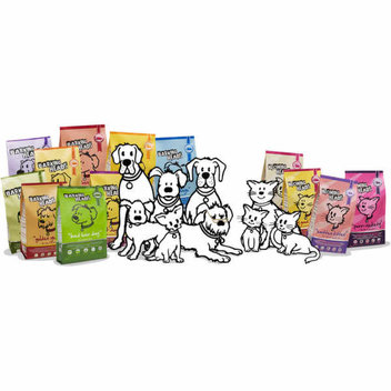 Free dog and cat food samples from Barking Heads and Meowing Heads