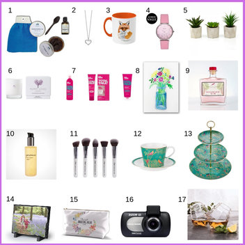 Win a wonderful prize bundle for your mum