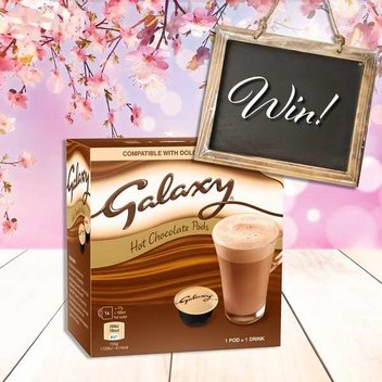 Enjoy a free box of Galaxy Hot Chocolate Pods