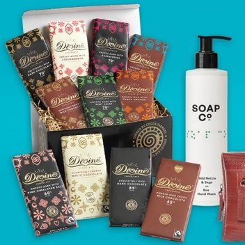 Have a free Divine Chocolate Fabulous Flavours hamper