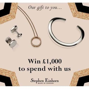 Win £1,000 to spend on the Stephen Einhorn collection