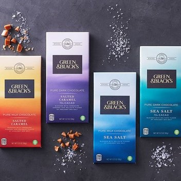 Win 1 of 5 Green & Blacks Dark Chocolate Assorted collections