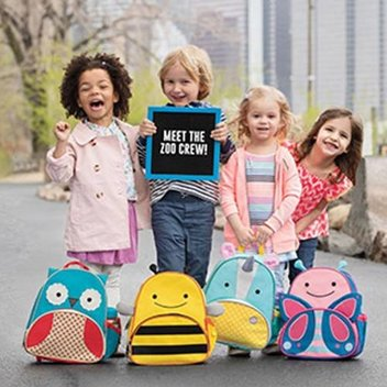 Get 1 of 10 Skip Hop Zoo Collection Backpacks