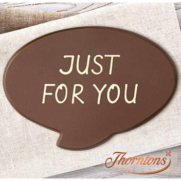 Free Personalised Thorntons Chocolate