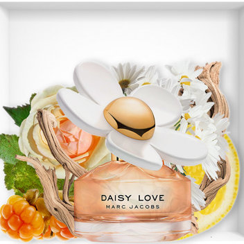 Get a free bottle of Daisy Love from Marc Jacobs