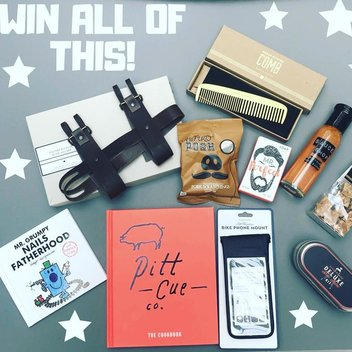 Win an awesome gift bundle for men