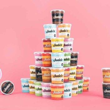 Win a year's supply of Jude's Ice Cream