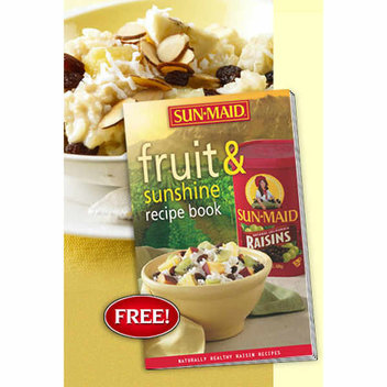 Free Sun-Maid Fruit & Sunshine recipe book