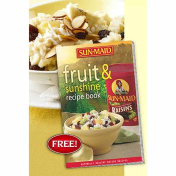 Free Sun-Maid Fruit & Sunshine recipe book
