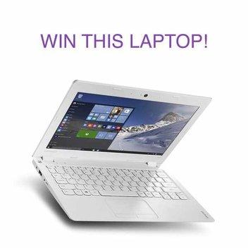 Win a Lenovo laptop