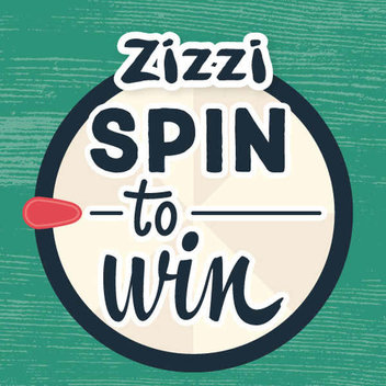 Spin to win free prizes from Zitti
