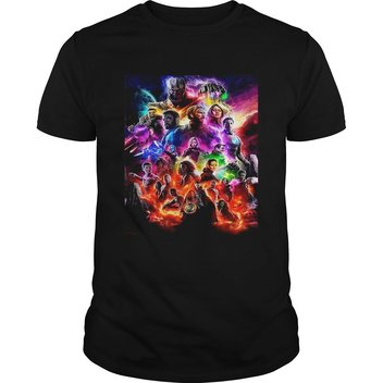 50 Official Avengers Endgame tees up for grabs