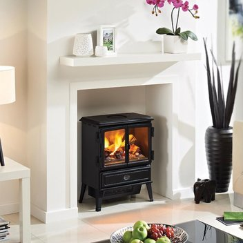 Win a stylish Opti-myst Oakhurst electric stove courtesy of Dimplex