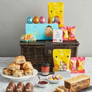 Feast on a free M&S Hamper this Easter