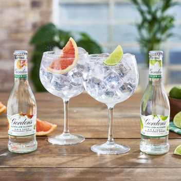 Enjoy free Gordon's Ultra-Low Gin & Tonic flavoured drinks