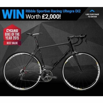 Win a Ribble Sportive Racing with Shimano Ultegra Di2 worth £1,990.00