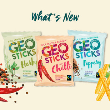 Get 1 of 25 mixed boxes of GEOSTICKS