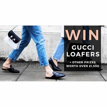 Win a pair of Gucci loafers & a spa break